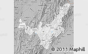 Gray Map of Boyaca