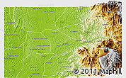 Physical 3D Map of Tado