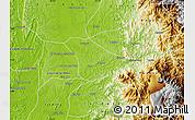 Physical Map of Tado