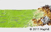 Physical Panoramic Map of Tado