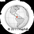 Outline Map of Gachancipa
