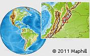 Physical Location Map of Manta