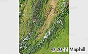 Satellite Map of Huila