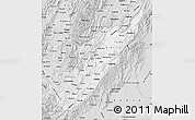 Silver Style Map of Huila