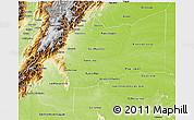 Physical 3D Map of Meta