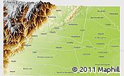 Physical 3D Map of Cumaral