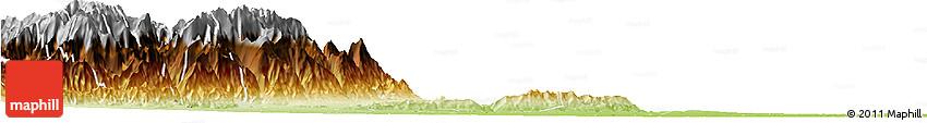 Physical Horizon Map of Cumaral