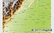 Physical Map of Cumaral