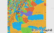 Political Map of Meta