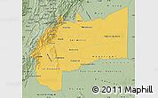 Savanna Style Map of Meta