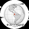 Outline Map of Putumayo