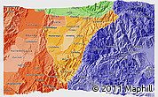Political Shades 3D Map of Quindio