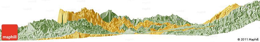 Savanna Style Horizon Map of Risaralda