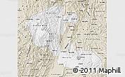 Classic Style Map of Risaralda