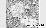 Gray Map of Risaralda
