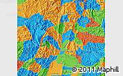 Political Map of Risaralda