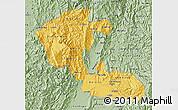 Savanna Style Map of Risaralda