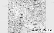 Silver Style Map of Risaralda