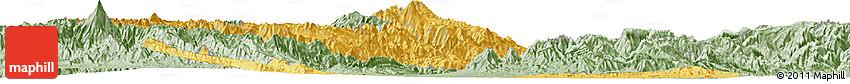 Savanna Style Horizon Map of Tolima