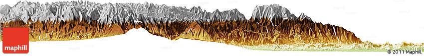 Physical Horizon Map of Rovira