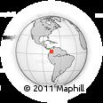 Outline Map of Rovira