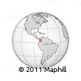 Outline Map of Argelia