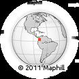 Outline Map of Buenaventura