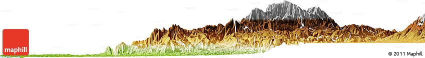 Physical Horizon Map of Calima  (Darien)