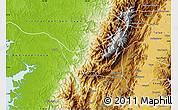 Physical Map of Calima  (Darien)