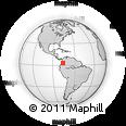 Outline Map of Candelaria