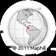 Outline Map of El Cerrito