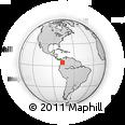 Outline Map of El Dovio
