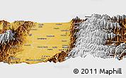 Physical Panoramic Map of Florida