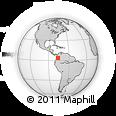 Outline Map of Ginebra