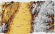 Physical 3D Map of Palmira