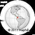 Outline Map of Pradera