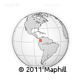 Outline Map of Restrepo