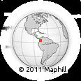Outline Map of Trujillo