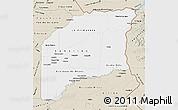 Classic Style Map of Vichada