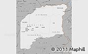 Gray Map of Vichada