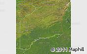 Satellite Map of Vichada