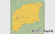Savanna Style Map of Vichada