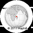 Outline Map of Grand Comore