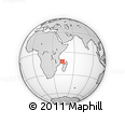 Outline Map of Mwali
