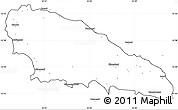 Blank Simple Map of Mwali