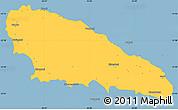 Savanna Style Simple Map of Mwali