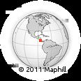 Outline Map of Alfaro Ruiz