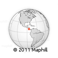 Outline Map of Grecia