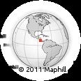 Outline Map of Naranjo