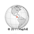 Outline Map of San Mateo
